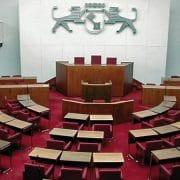 Plenarsaal der Bremer Bürgerschaft