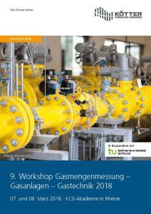 Vortragsprogramm Workshop Gasmengenmessung 2018