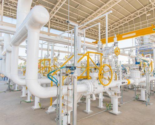 Fluidinduzierte Schwingungen in Gasleitungen. KÖTTER Consulting Engineers hilft Ihnen.