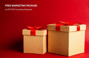 Send us your enquiry and you will receive our free marcketing package by KÖTTER Consulting Engineers